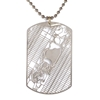 Urban Gridded Dogtags by Aminimal Studio