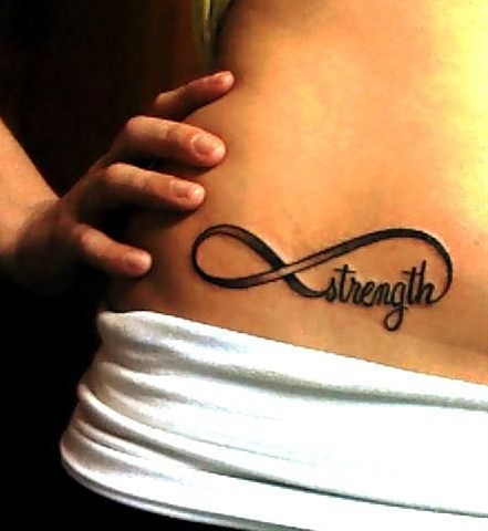 Wanted a strength tattoo forever. Never knew how to make it work. This is perfect!