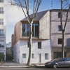 Angular wooden extension to a house in Paris by MIR architectes and Nicolas Hugoo