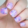 Snippet: Blinkple Streaky Watercolour Nail Art Video tutorial here
