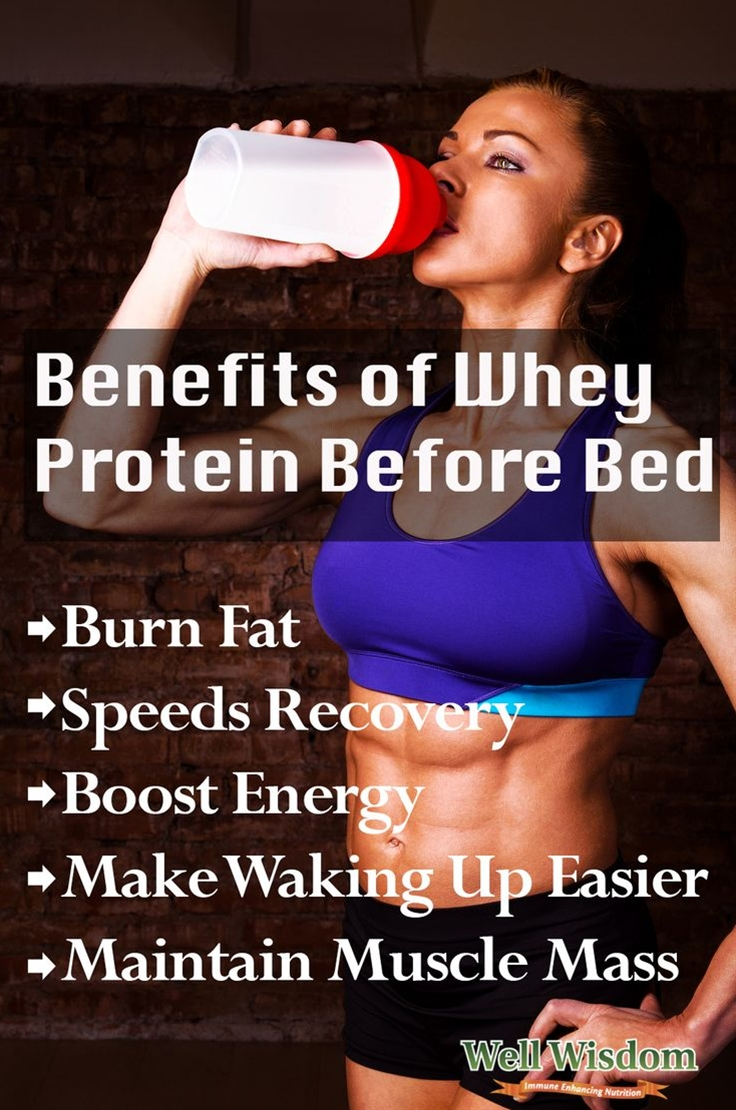 What about using whey protein as a pre-bedtime supplement? Is whey protein before bed a good idea?