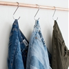 DIY HOME: JEANS ON HOOKS