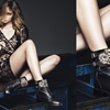 Masha V Gets Leggy for Rene Caovilla Fall 2014 Campaign