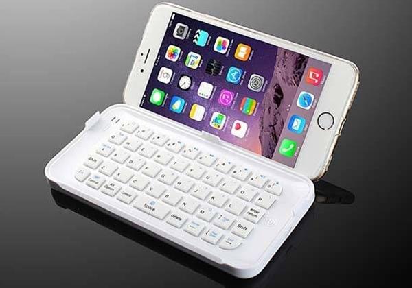 The Ultra-Thin Mini Bluetooth Keyboard for iPhone 6 Plus