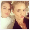 Party Time! Rosie Huntington-Whiteley Celebrates Birthday with Candice Swanepeol & Heather Marks