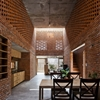 Brick Termitary House Shaped by the Extreme Climate of Da Nang, Vietnam