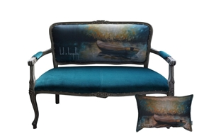 Powerful Idyllic Nature Frames Evoked in Sky Furniture Collection by thecraftlab