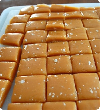 salted carmels..