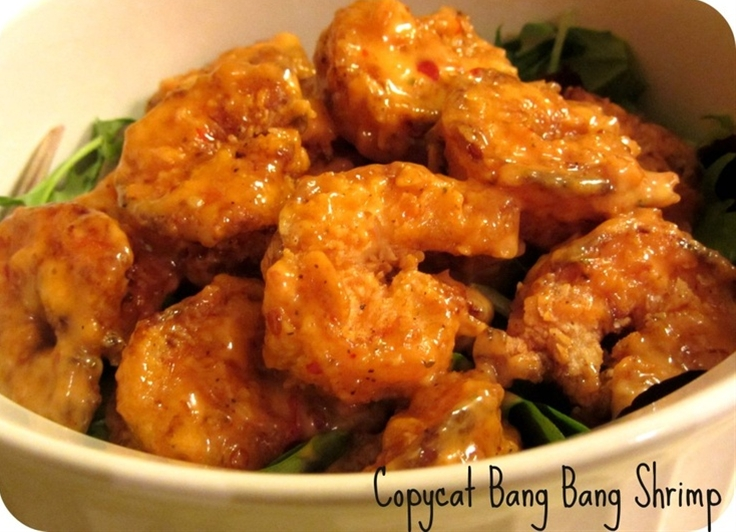 Ingredients: 1lb peeled and deveined shrimp,  Brown paper bag,  Cooking oil,  For The Sauce,  1 cup mayonnaise,  2-3 Tablespoons honey,  approx 1/4 Thai Sweet Chili Sauce (we use Kikkoman's) adjust to taste.,  For The Shrimp Batter,  3/4 cup flour,  1/2 cup corn starch,  2 Tablespoons garlic powder,  Salt and pepper to taste,  1 egg,  1 cup of buttermilk (can also substitute with milk).