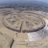 First images of Apple Campus under construction captured using a drone-mounted GoPro