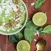 Green Tea Lime Pie Smoothie Bowl