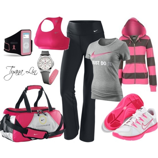 When you get the right workout gear you want to show it off! Go (work)OUT!