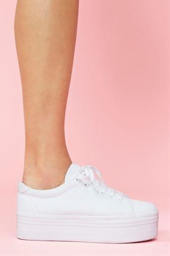 Zomg Platform Sneaker in White