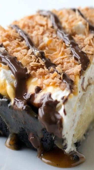 Samoa Coconut Cream Pie Recipe
