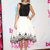 Taylor Swift Wows in Black & White Oscar de la Renta Dress at Billboard Women in Music Luncheon