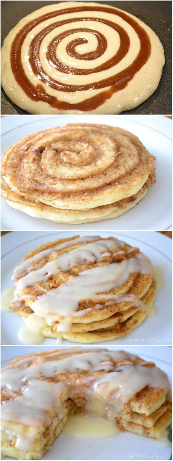 Ingredients: For Pancakes: 1 cup all-purpose flour,  2 teaspoons baking powder,  1/2 teaspoon salt,  1 cup milk,  1 Tablespoon canola oil,  1 large egg, lightly beaten. Cinnamon Filling: 1/2 cup butter, melted,  3/4 cup packed brown sugar,  1 Tablespoon ground cinnamon.