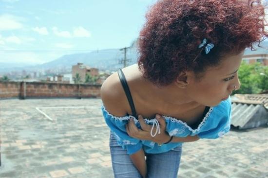 natural hair :)