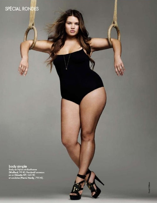Plus-Sized model Tara Lynn... Say it with me, she is beautiful!