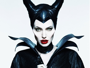 "Angelina Jolie in New ""Maleficent"" Poster Photographed by Mert & Marcus"
