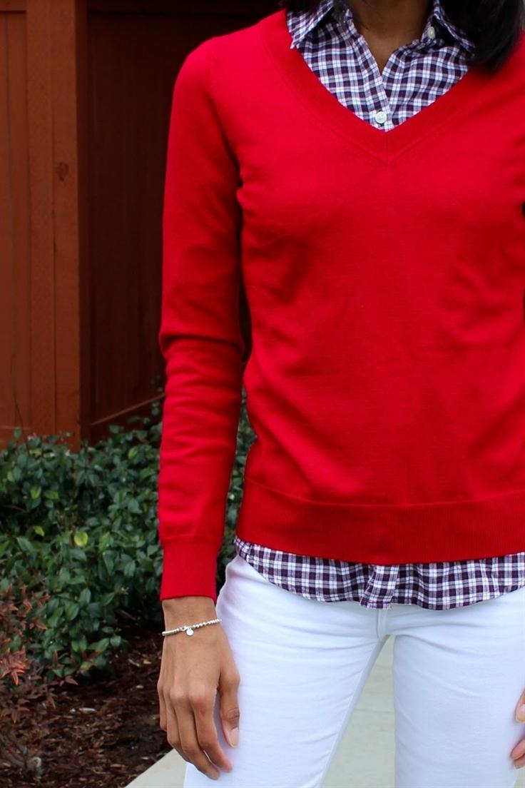 Merino Sweater, Banana Republic // Soft Wash Plaid, Banana Republic // Straight leg, Joe's Jeans