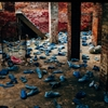 Blue Shoes, Heidelberg Project - Detroit, Michigan by Dave...