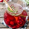 Cocktail Recipe: Sparkling Cherry Rosé Sangria — Farmers Market Sangrias