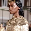black models at valentino fall 2015 couture + close-ups