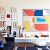 10 Rooms with Oversized Art