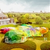 SelgasCano unveils first images of colourful 2015 Serpentine Pavilion design