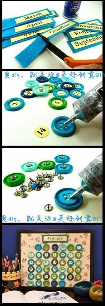 Maybe instead of buttons use beer bottle tops