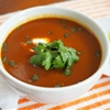 Mexican Butternut Squash Soup With Ancho Chili, Crema, and Pepitas