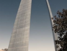 One more of the Arch in St. Louis, MO. by Edward J. Chevalier...