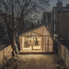 Hidden at the bottom of a London garden, this glowing shed by British studio Weston, Surman & Deane was designed as a writing retreat for an author