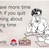 You'd have more time for lunch if you quit complaining about not having time for lunch.