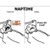 Nap time then and now