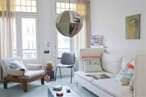 Next-to-No-Cost Decorating: At Home with Two Amsterdam Creatives