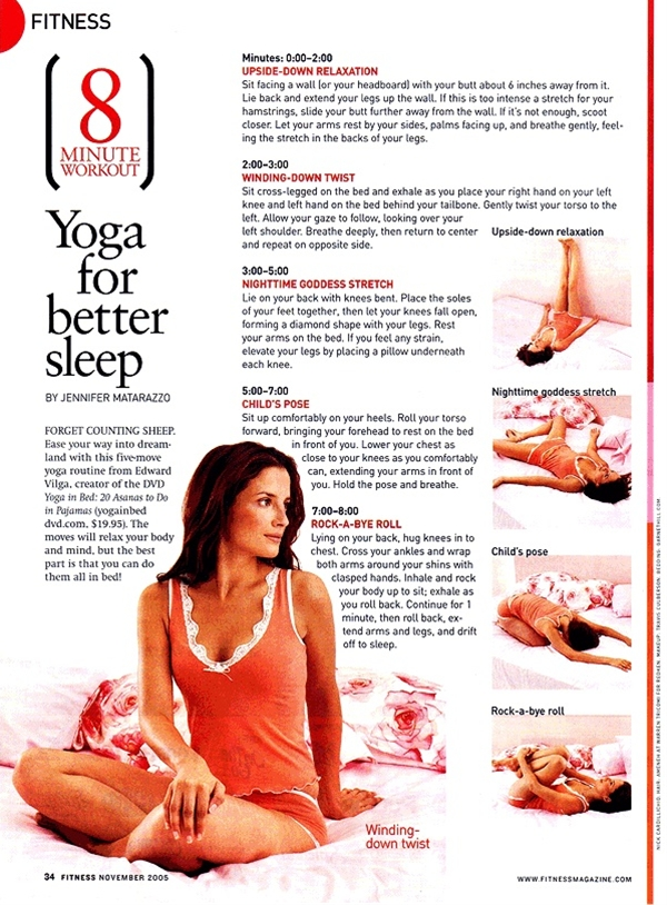 Practicing yoga before bed will benefit your sleep in many ways. The mind and body are working every minute of the day.