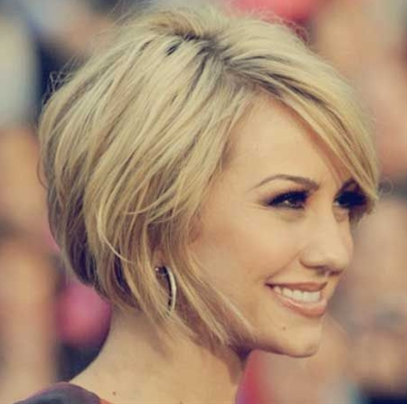 This awesome hairstyle is so lovely and charming. The lovely blonde hair—when complemented with a bob cut—is truly lovely and attractive. Moreover, the overall effect of this awesome hairstyle is quite gorgeous and appealing. Likewise, the mesmerizing look is punctuated by the lovely layered hair which creates more texture and volume. You will definitely love to sport this awesome hairstyle.