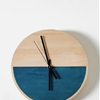 DIY: A Color-Blocked Wall Clock for $25