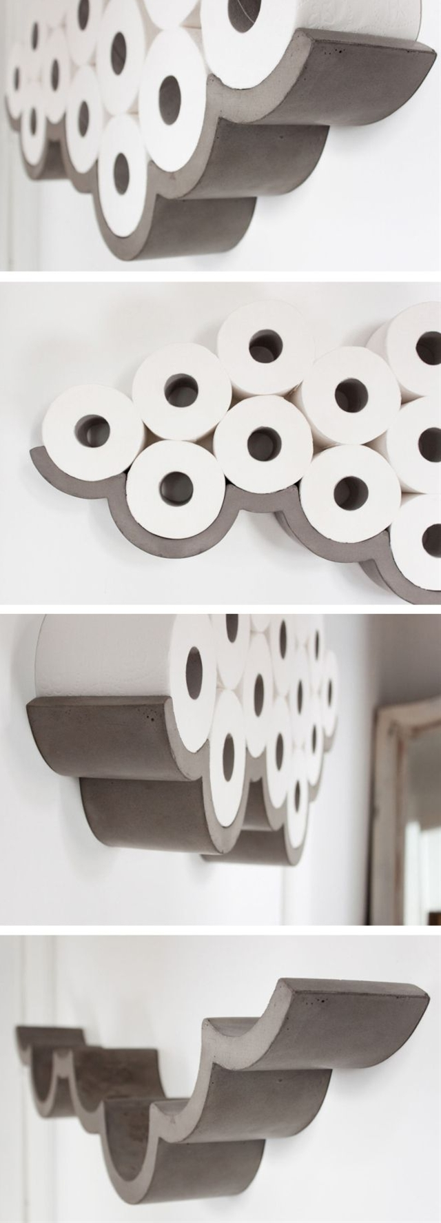 21Feb2015 Awesome Products: Cloud concrete toilet roll holder categories: Awesome Products, Design