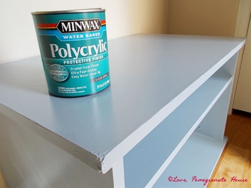 How to Paint Laminate Furniture - must pin this. Need to repaint the kitchen table.
