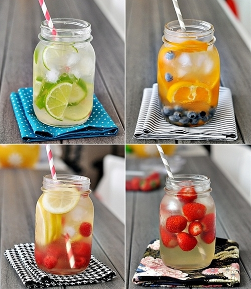 healthy summer drinks.