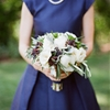 Elegant Navy and Grey Summer Wedding