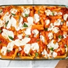 Baked Ziti With Two Mozzarellas and Parmesan Cream Sauce