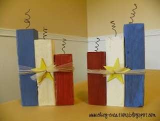 4th of july #wood #crafts