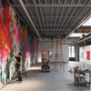 Brooklyn warehouse overhauled by Snøhetta to create art studio for painter José Parlá