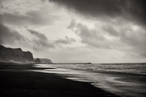 Black Sands at Vík, the southernmost part of Iceland. by...