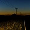 matthewschiavello:  'Somewhere along the Wimmera Highway at dusk...