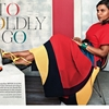 Mindy Kaling Dons Colorful Fashion for InStyle by Bjarne Jonasson