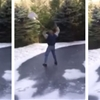 Here's why you shouldn't try shoveling an icy driveway.